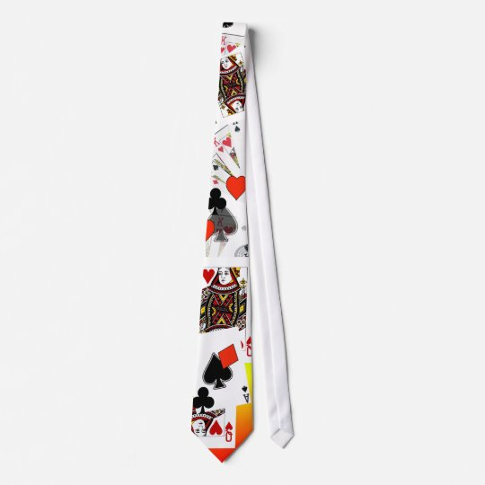 Card Player Tie!  Call! Neck Tie