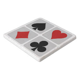 Card Player trivets
