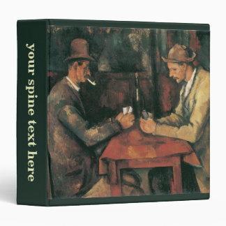 Card Players by Paul Cezanne, Vintage Fine Art Binder