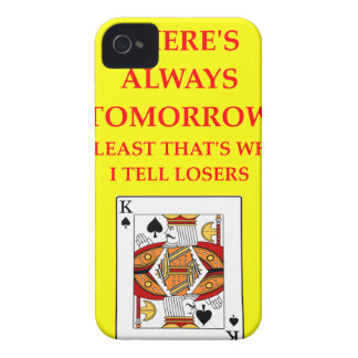 card players Case-Mate iPhone 4 case