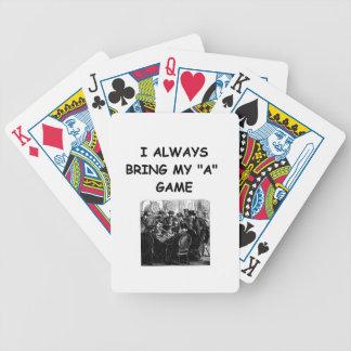 card players joke card decks