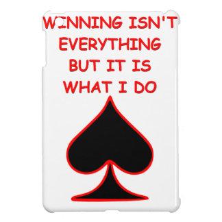 card players joke iPad mini cover