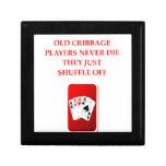 card players joke jewelry boxes