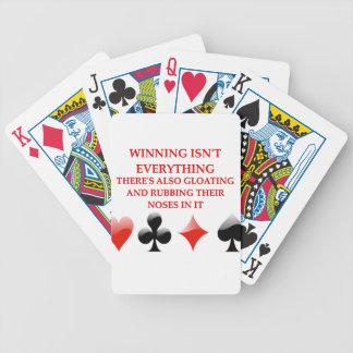card players joke poker deck