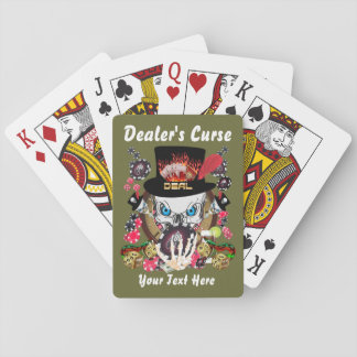 Card Playing  Dealer's Curse 1 Playing Cards