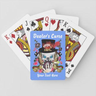 Card Playing  Dealer's Curse 1 Poker Deck
