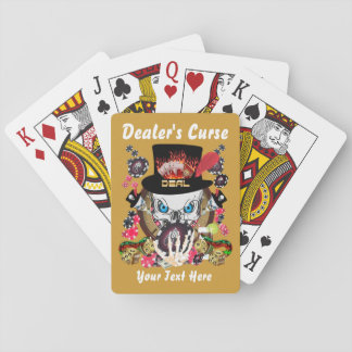 Card Playing  Dealer's Curse 1 Poker Cards