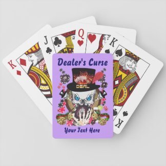 Card Playing Poker Dealer's Curse 1
