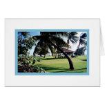 Card-Poipu Beach Park, Kauai, Hawaii Card