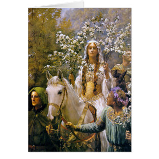 Card: Queen Guinevere Greeting Card