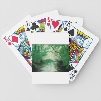Card Quiet Place Bicycle Playing Cards