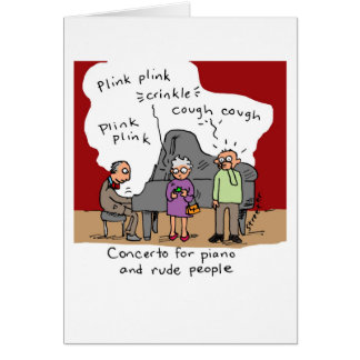 Card: Rude People Card