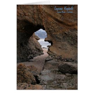 Card: Sandstone Keyhole Card