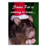 Card: Santa Rat