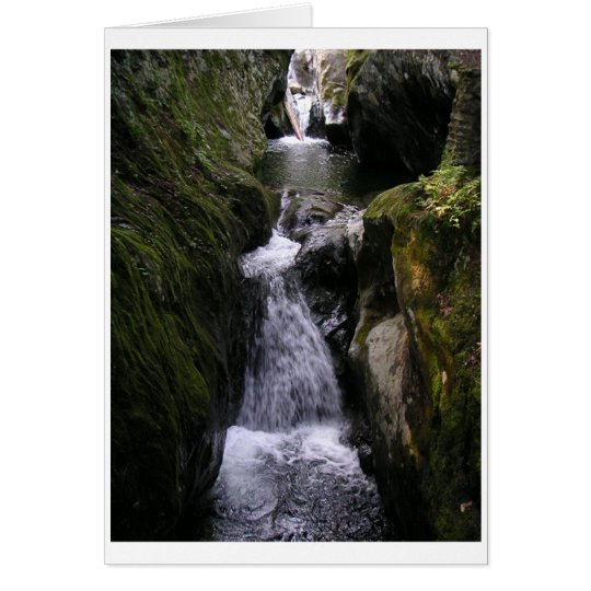Card Series One, Number 5: Waterfall