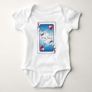 Card Shark Baby Bodysuit