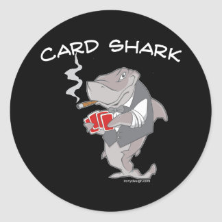 Card Shark Stickers