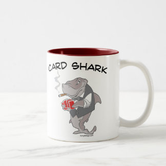 Card Shark Two-Tone Coffee Mug