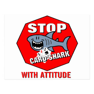 Card Shark With Attitude