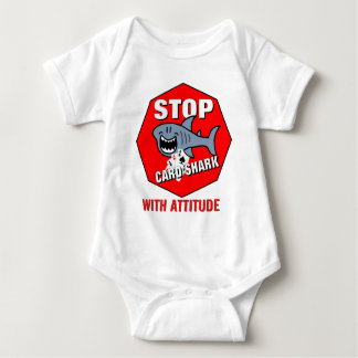 Card Shark With Attitude Baby Bodysuit