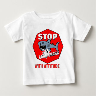 Card Shark With Attitude Baby T-Shirt