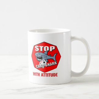 Card Shark With Attitude Coffee Mug