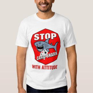 Card Shark With Attitude T-Shirt