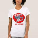 Card Shark With Attitude Tee Shirt