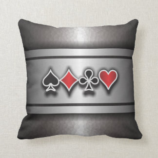 Card Sharp 1 Throw Pillow