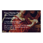 Card Sharps And Fortune Teller Detail By Régnier N Business Card