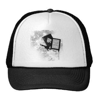 card shot mesh hats