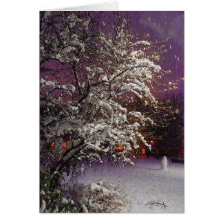 Card - Snowy Winter