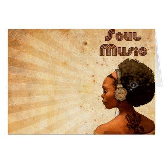 "Card ""Soul Music """