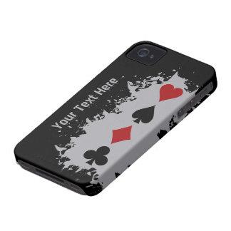 Card Splash custom Blackberry case