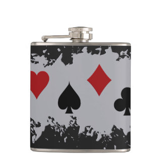 Card Splash custom flask