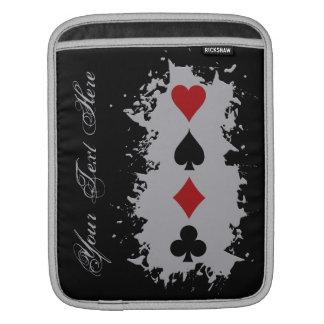 Card Splash custom iPad sleeve