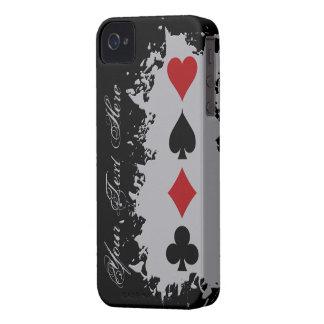 Card Splash custom iPhone case-mate Case-Mate iPhone 4 Case