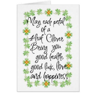 Card-St. Patricks Day Card
