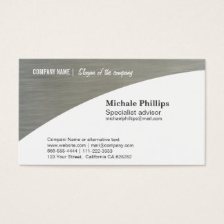 CARD standard COMPANY WHITE ACER BUSINESS METAL