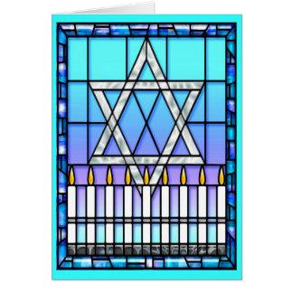 Card: Star Menorah