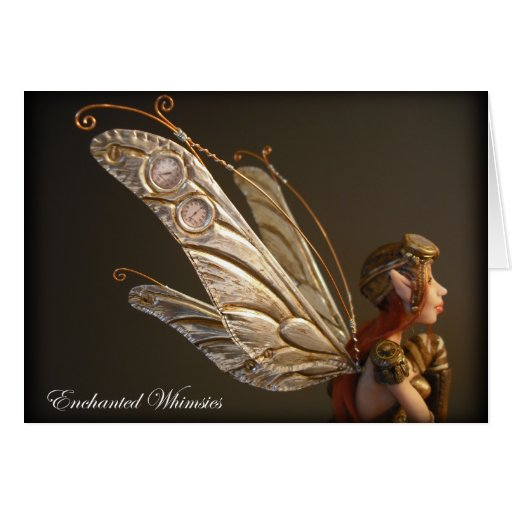"""Card """"Steampunk Fairy"""""""