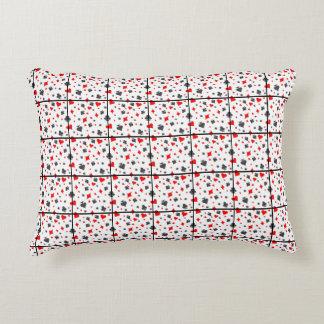 Card Suit Throw Pillow