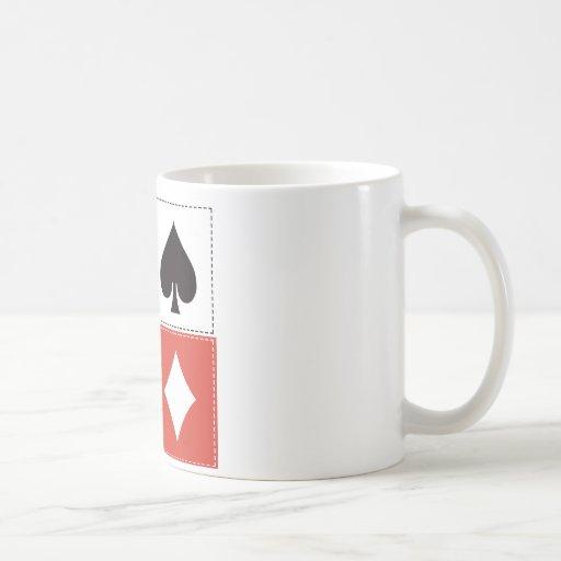 Card Suits 02 Classic White Coffee Mug