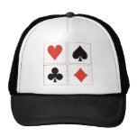 Card Suits 03 Hats