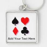 Card Suits Keychains