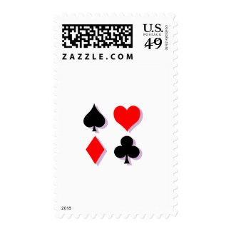 Card Suits Stamp