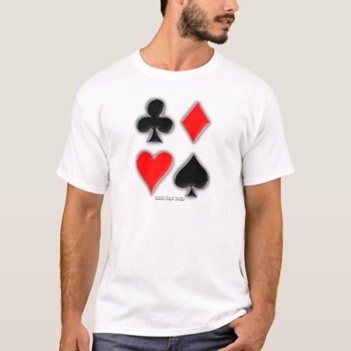 Card Suits T_Shirt