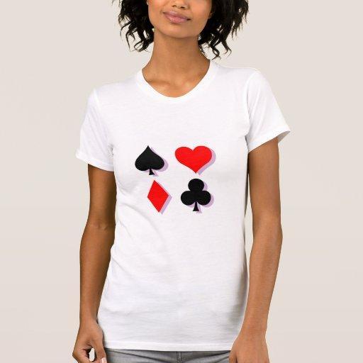 Card Suits T Shirt