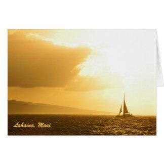 Card: Sunset Memories (Landscape)