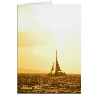 Card: Sunset Memories (Portrait)